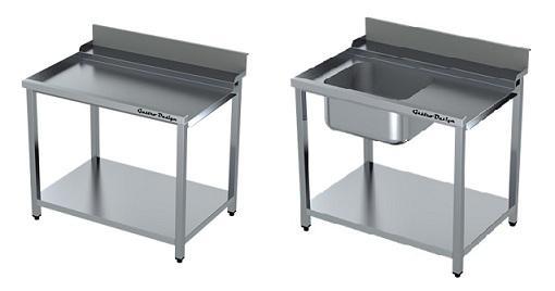 Stoly pre umývačky riadu