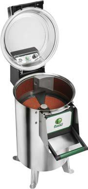 Bočná brúsna plocha k mechanickej škrabke na zemiaky