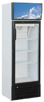Chladnička presklená  EKO 244 L