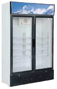 Chladnička presklená dvojdverová EKO 620 L