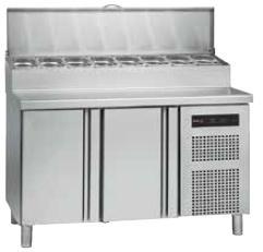 Chladiaci stôl na pizzu kompaktný 700 GN Fagor Concept, 2 x dvere