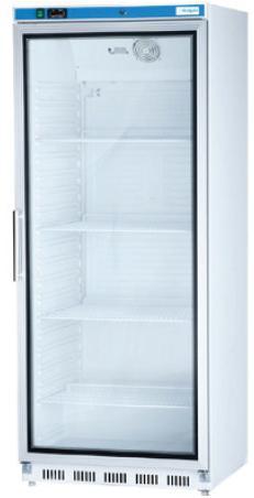Chladnička podpultová  s presklenými dvierkami 600 L