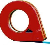 Odvíjač na lepiacu pásku, kovový (ručný) [1 ks]