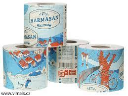 Toaletný papier Harmasan 50m