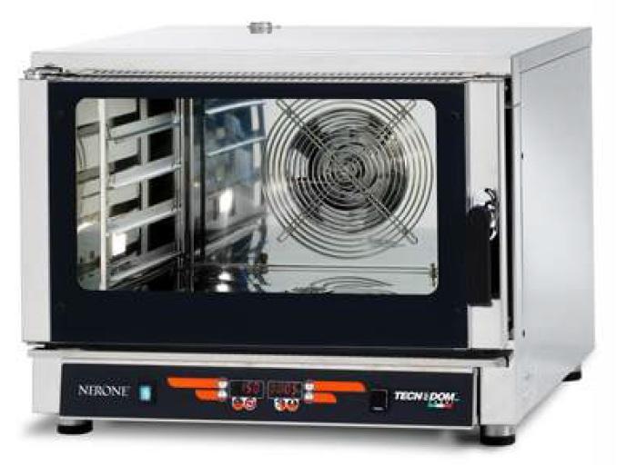 Teplovzdušná rúra a parnou funkciou 4x GN1/1 TECHNODOM